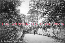 CH 205 - Road To Manley Quarry, Helsby, Widnes, Cheshire - 6x4 Photo