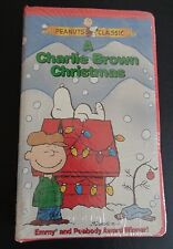 A Charlie Brown Christmas (VHS, 1999, Clamshell Case) NEW Free Shipping SEALED