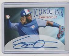 Vladimir Guerrero Jr. Iconic Ink Facsimile Autograph Rookie Blue Jays