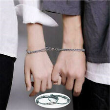 Bracelet Friendship Magnetic Couple Rope Braided Jewelry Kit 2Pcs Lover