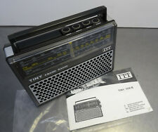 Vintage 70s portable radio - Transistor Kofferradio Schaub Lorenz ITT TINY 109B