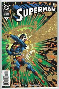 SUPERMAN #150 (1987) NEAR MINT+ 9.6