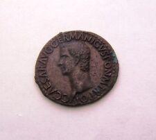 CH EF+ Gaius Julius Caesar Augustus Germanicus (AD 37-41) his only AS-denom coin