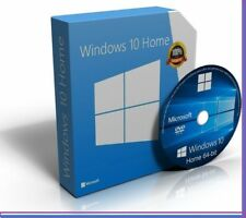Windows 10 Home 64-Bit Bootable DVD FULL Install Repair 7 Recovery 8 Restore