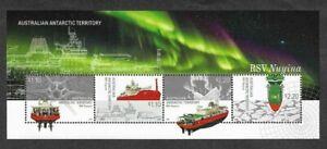 Australian Antarctic Territory-RSV Nuyina-Icebreaker Ships -min sheet mnh 2020