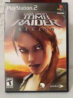 PlayStation 2 - Lara Croft: Tomb Raider - Legend Game