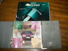 94 VOLVO 440/460  HANDBOOK & CASE