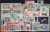 L136654/ MONACO / LOT 1962 – 1974 MINT MNH COMPLETE SETS CV 142 $
