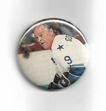 "Gordie Howe Detroit Red Wings 1972 Hockey Hall of Fame 2 1/4"" Button #3"