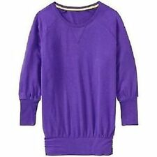 NWOT Athleta Peaceful Pullover, Vibrant Purple SIZE M     #581748 v728
