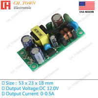 AC-DC 12V 0.5A 6W Power Supply Buck Converter Step Down Module High Quality USA