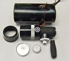 ZEISS IKON  CONTAREX FIT B56  f4 250mm OLYMPIA SONNAR + CAPS, HOOD, GRIP & CASE