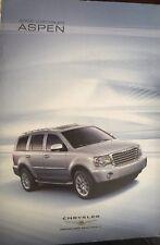 2008 Chrysler Aspen Brochure