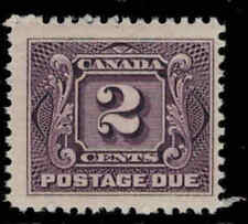 Canada 1906 2¢ Postage Due Issue Mint Never Hinged