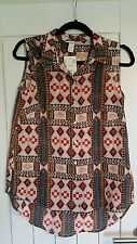 H&M size 10 sleeveless shirt. New! RRP £7.99
