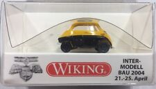 Wiking 1/87 BMW Isetta Yellow And Black