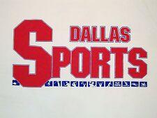 Vintage Dallas Sports Texas TX Souvenir The Nashville Network Kroger T Shirt XL
