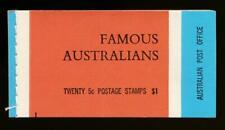 Australia Sg. Sb44 $1 Booklet, Mint Nh, Famous Australians