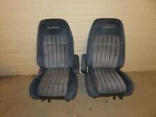 1992 CHEVY SILVERADO SUBURBAN TAHOE GMC SIERRA RED BUCKET SEATS 1988-94