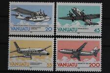 Vanuatu, MiNr. 814-817, ESCAP, Flugzeuge, postfrisch / MNH - 632849