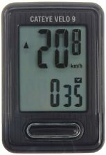 CAT EYE CC-VL820 Velo 9 Cycle Computer Wired Speedometer Black CATEYE Japan