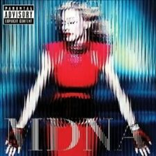 "MADONNA ""MDNA"" CD 12 TRACKS INCL GIVE ME ALL YOU LOVING & GIRL GONE WILD NEW+"