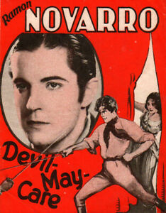 Devil-May-Care Original Movie Herald from the 1929 Movie