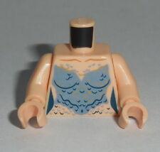 TORSO F019 Lego Female Mermaid Sand Blue Scales Pattern NEW Syrena POTC Lt Flesh