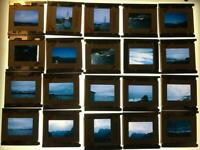 Vintage Lot of 36 Color Photograph Slides 1960's California mostly Kodachrome