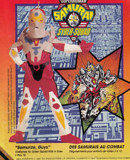 McCalls 7857 Samurai Syber Squad Costume Jumpsuit Halloween Sewing Pattern 7-8