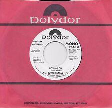 JOHN MAYALL  Moving On  rare promo 45 from 1972