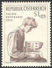 Austria 1955 FRANCOBOLLO giorno/un FILATELICO/FILATELIA/Libri/ALBUM FRANCOBOLLI // 1 V (n37744)
