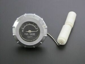 Screw In Gas Cap With Fuel Guage For Harley-Davidson ,Triumph,Royal enfield...