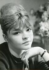 CATHERINE ALLEGRET 60s VINTAGE PHOTO ORIGINAL