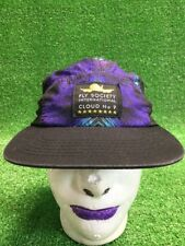 Fly Society International Cloud 9 Purple StrapBack Hat Cap Fast Free Shipping