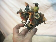 Vintage Made In Germany Tleischmann Toy Rail 7/8  Road Horse and Riders