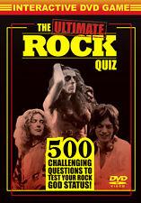 DVD:THE ULTIMATE ROCK QUIZ - NEW Region 2 UK
