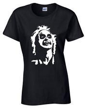 Beetlejuice Cara Mujer Camiseta S-5XL Camiseta Retro Regalo