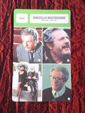 MARCELLO MASTROIANNI   -  MOVIE STAR - FILM TRADE CARD - FRENCH  - #3
