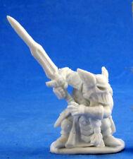 1 x LOGRIM CAPITAINE NAIN- BONES REAPER figurine miniature rpg d&d dwarf 77397