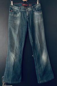 Miss Sixty Damen Jeans W29 Gr. 38 blau used