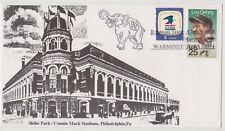 Connie Mack Stadium / Shibe Park Philadelphia Phillies cancelled envelope
