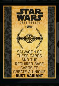 Topps Star Wars Card Trader: RUST Salvage Ticket - 3 tickets (digital card)