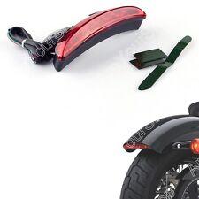 Chopped Fender Edge LED Rücklicht Fit Harley Iron 883 XL883N XL1200N XL1200V Red