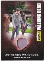 Walking Dead Season 4 Costume Relic Wardrobe Card Woodbury Walker M56 SP