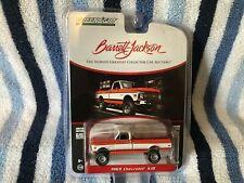 Greenlight Chevy K10 1969 Pickup Barrett Jackson 37180 1/64 Limited Edition Ser4