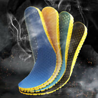 Breathable Function Sport Shoes Pad Thicken Insole Shock Absorbing Shoe Inserts