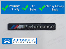 BMW M PERFORMANCE 3D BADGE LOGO EMBLEM STICKER GRAPHIC DECAL SPORT M2 M3 M4 M5