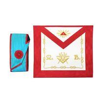More details for masonic worshipful master mason apron and sash set