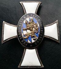 ✚7327✚ German Bavarian Warrior League Merit Cross 1st form medal KRIEGERBUND WW1